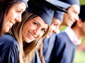 Graduating Female Student